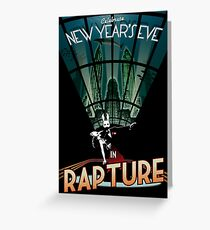 BioShock New Year's in Rapture Greeting Card