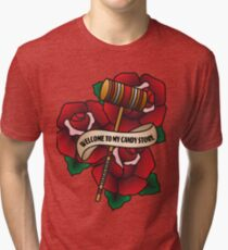 Welcome to my Candy Store Tri-blend T-Shirt