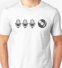 Camiseta unisex 3MCs y 1DJ