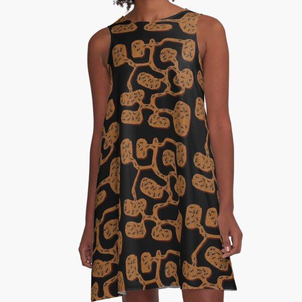 Amazing Ant Farm A-Line Dress