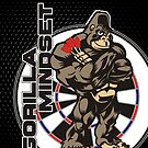 Gorilla Mindset Darts Shirt by mydartshirts