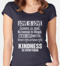 Kindness Is Everything Women's Fitted Scoop T-Shirt