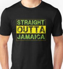 Straigt Outta Jamaica - Proud Jamaican Unisex T-Shirt