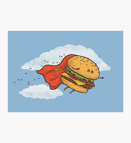 Superburger! Photographic Print