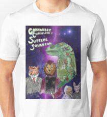 Commander Chameleons Supreme Squadron Unisex T-Shirt