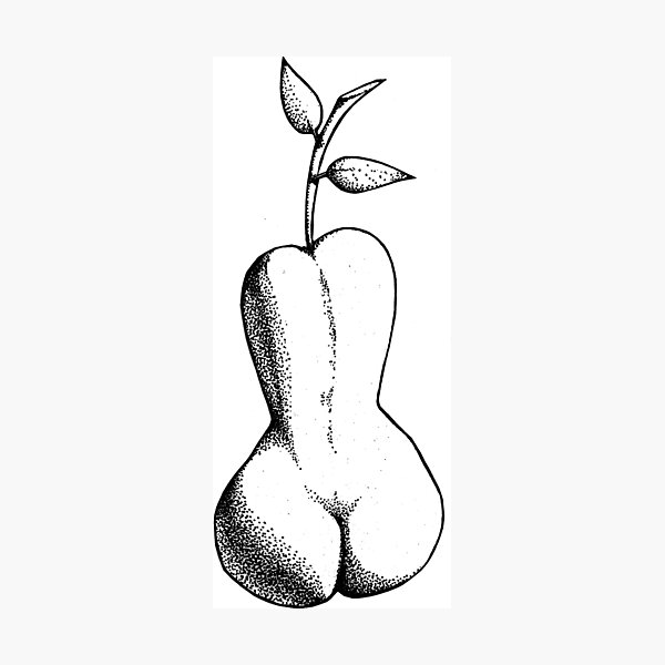 Pear Photographic Print