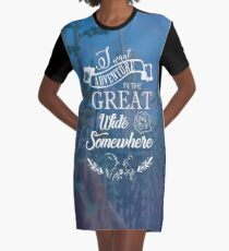 Beauty and The Beast Graphic T-Shirt Dress