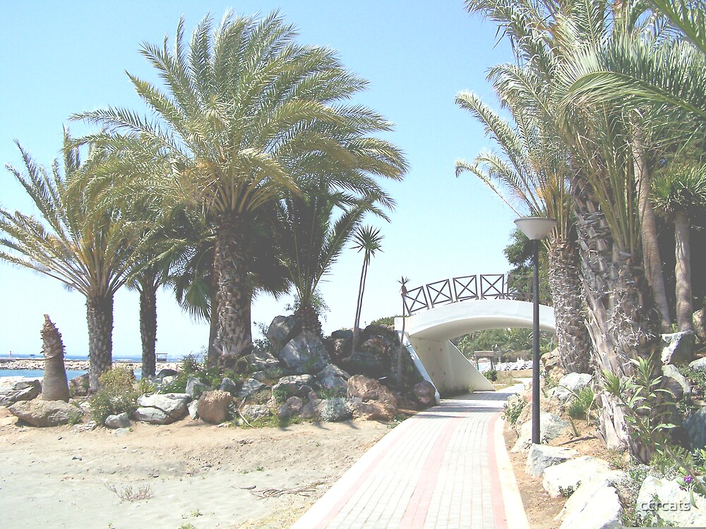 Cyprus promenade.  by ccrcats