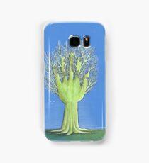 Green Hand Samsung Galaxy Case/Skin