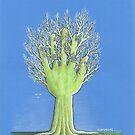 Green Hand by Ercan BAYSAL