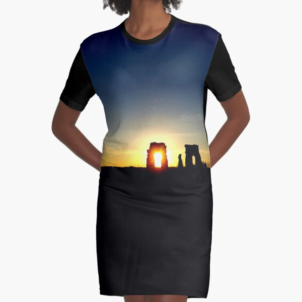 Sunset Italian I - NESCI Graphic T-Shirt Dress