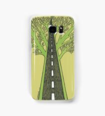 Road and Forest Samsung Galaxy Case/Skin