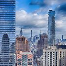 New York Cityscape by Dyle Warren