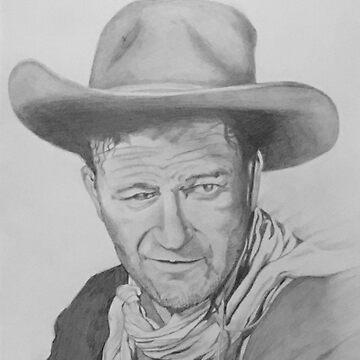 John Wayne by noellelucia