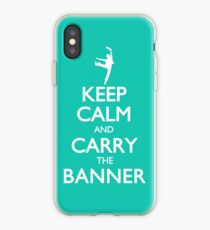 Keep Calm and Carry the Banner! iPhone Case