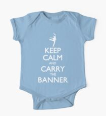 Keep Calm and Carry the Banner! One Piece - Short Sleeve
