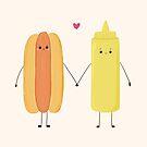 «Hot Dog & Mustard, True Love» de jennisney