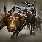 Charging Bull by Dyle Warren