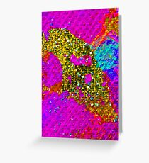50s 60s erotic greeting cards redbubble glitter and gold greeting card m4hsunfo