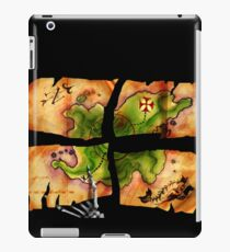 The Big Whoop four-pieced treasure map iPad Case/Skin