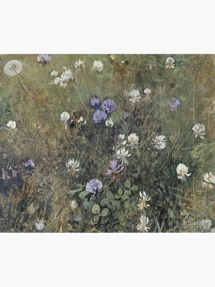 Jac Van Looij - Blooming Clover, 1897 by artcenter