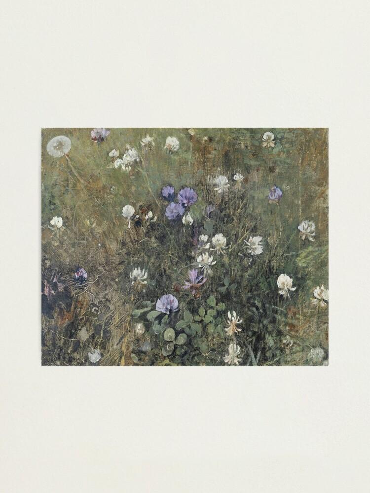 Alternate view of Jac Van Looij - Blooming Clover, 1897 Photographic Print