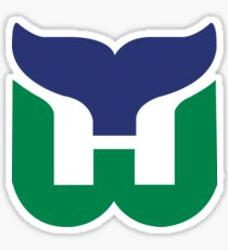 Hartford Whalers Sticker