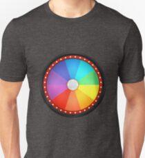wheel fortune ten black Unisex T-Shirt