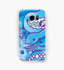 Dinosaur Pattern in Blue Samsung Galaxy Case/Skin
