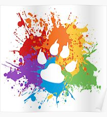 Paw Pride: Light Poster