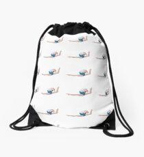 Gymnast - Ring Leap Drawstring Bag