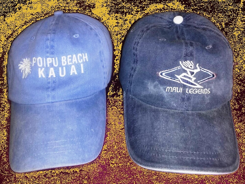 Hats in the Sand by WhiteDove Studio kj gordon
