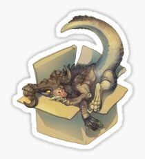 Deathclaw in a Box Sticker