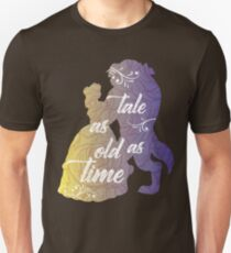 Beauty and The Beast- Tale as old as time Unisex T-Shirt