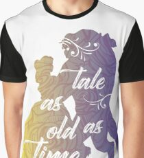 Beauty and The Beast- Tale as old as time Graphic T-Shirt