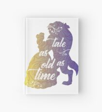 Beauty and The Beast- Tale as old as time Hardcover Journal