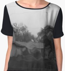 ...and the desolate days turn to cold black years. Chiffon Top