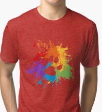 Paw Pride: Light Tri-blend T-Shirt