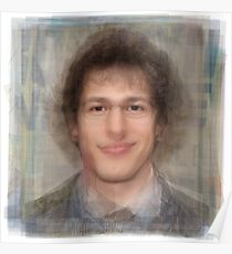 Andy Samberg Portrait Poster