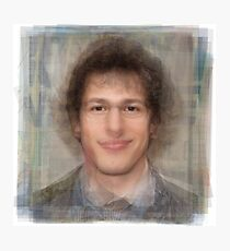 Andy Samberg Portrait Photographic Print