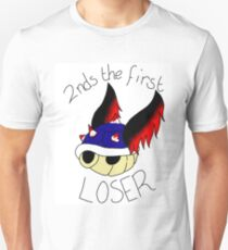 Seconds the first loser Unisex T-Shirt