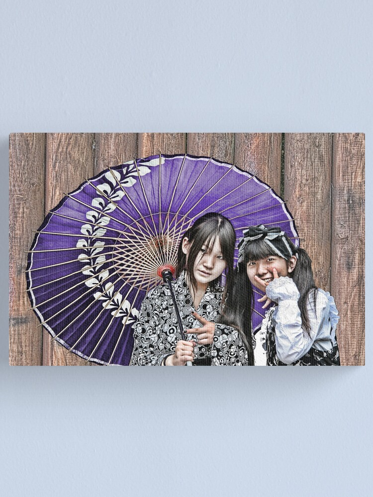Alternate view of Tokyo - Harajuku Style (reworked) Canvas Print