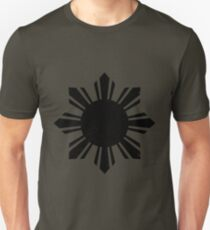 Black Flag Philippines Sun  Unisex T-Shirt