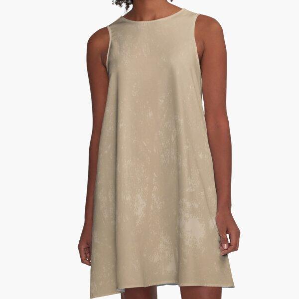 HAZELNUT TREE  A-Line Dress
