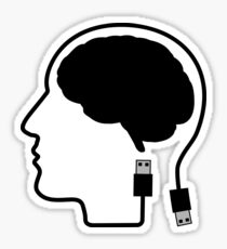 Plugged In Sticker