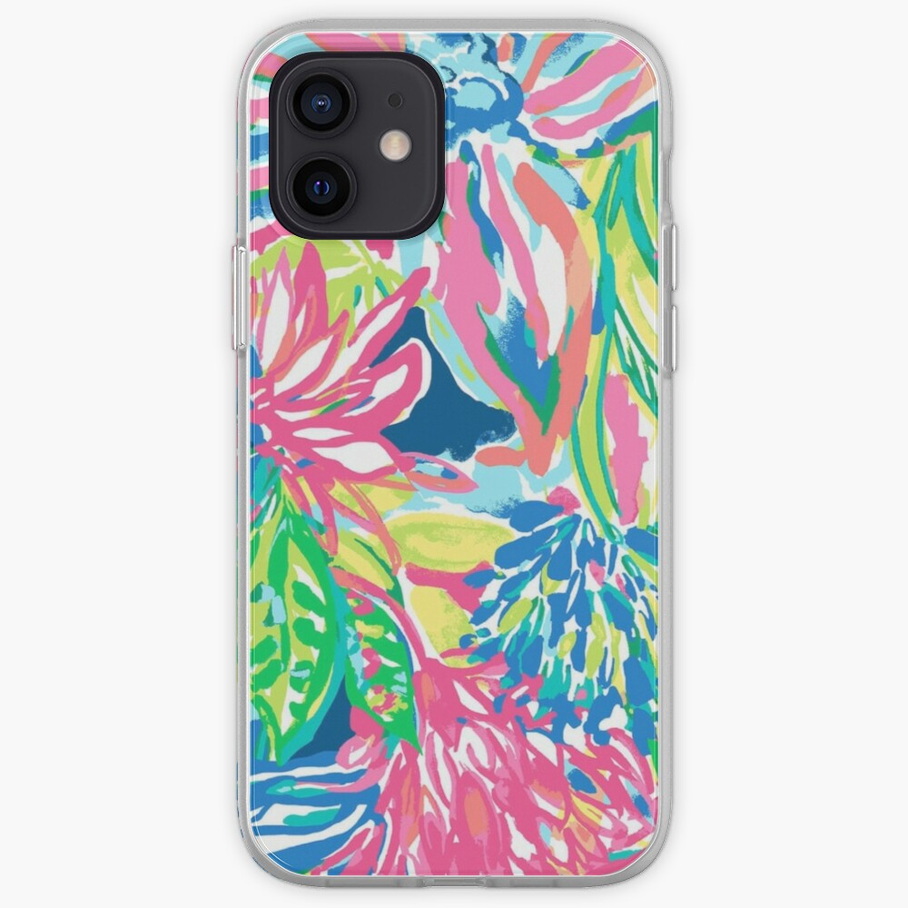 Vibrant Floral Multicolor Print iPhone Case & Cover