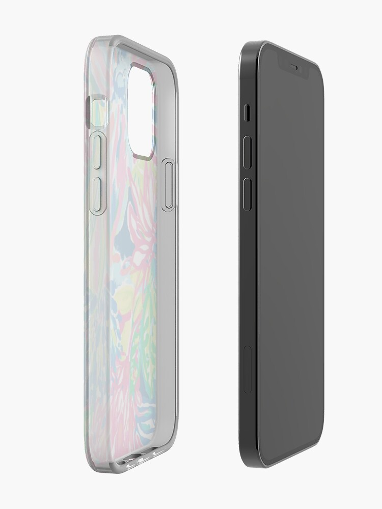 Alternate view of Vibrant Floral Multicolor Print iPhone Case & Cover