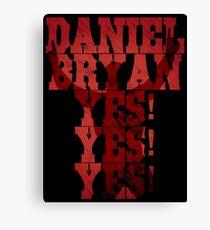 Daniel Bryan Canvas Print