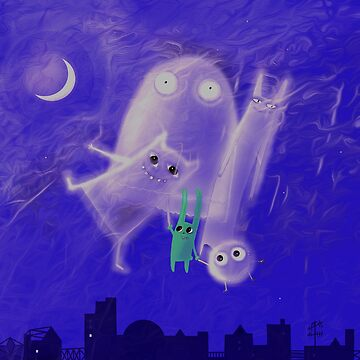 ghostly friends by mariannat