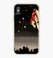 mj skyline iPhone Case